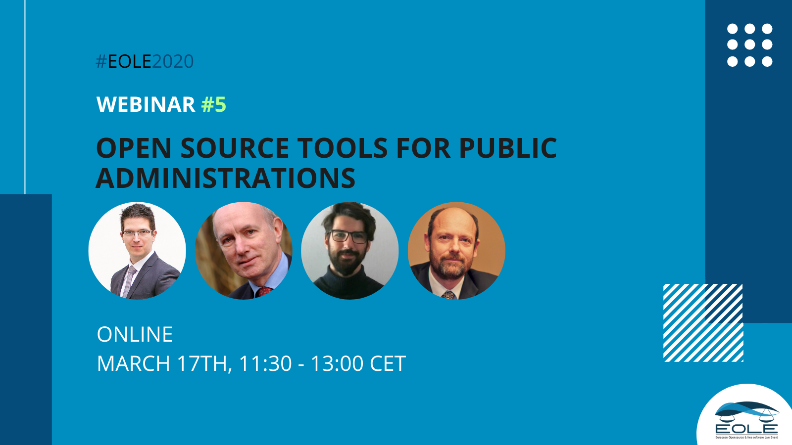 EOLE fifth webinar on legal tools public administrations